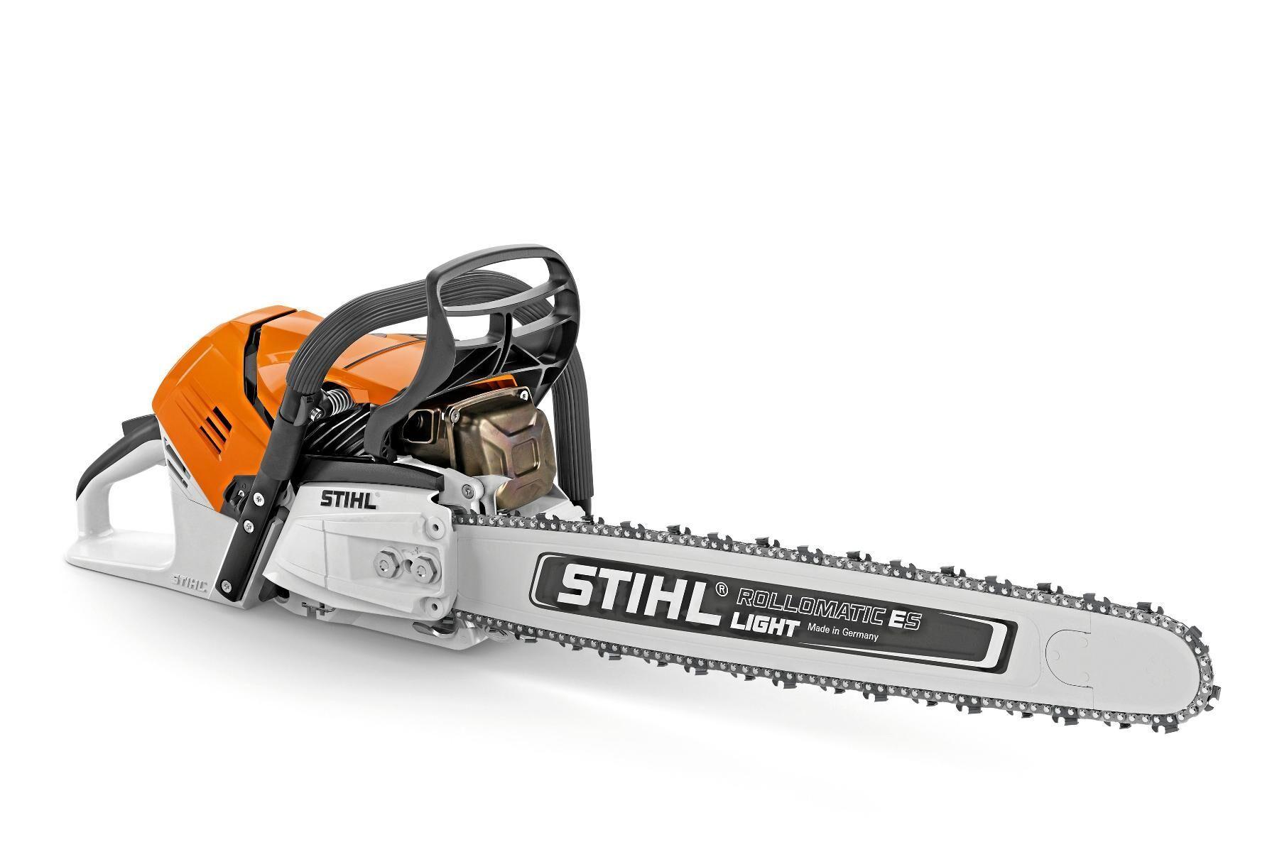 Stihl MS 500i har direktinsprutning och supersnabb acceleration av kedjan.