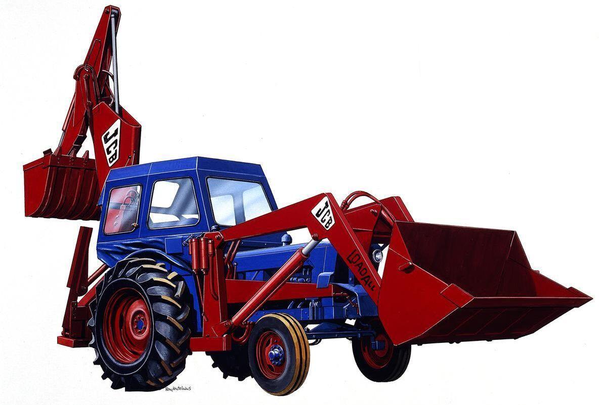 1957 kom JCB:s Hydra Digger.