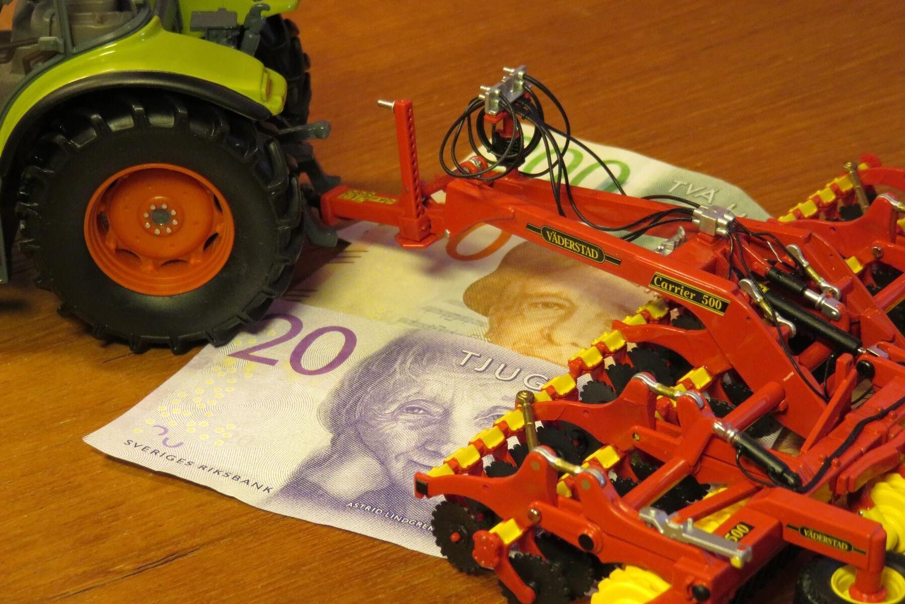 Stödstrulet på Jordbruksverket har kostat pengar för både bönder och stat. Arkivbild.