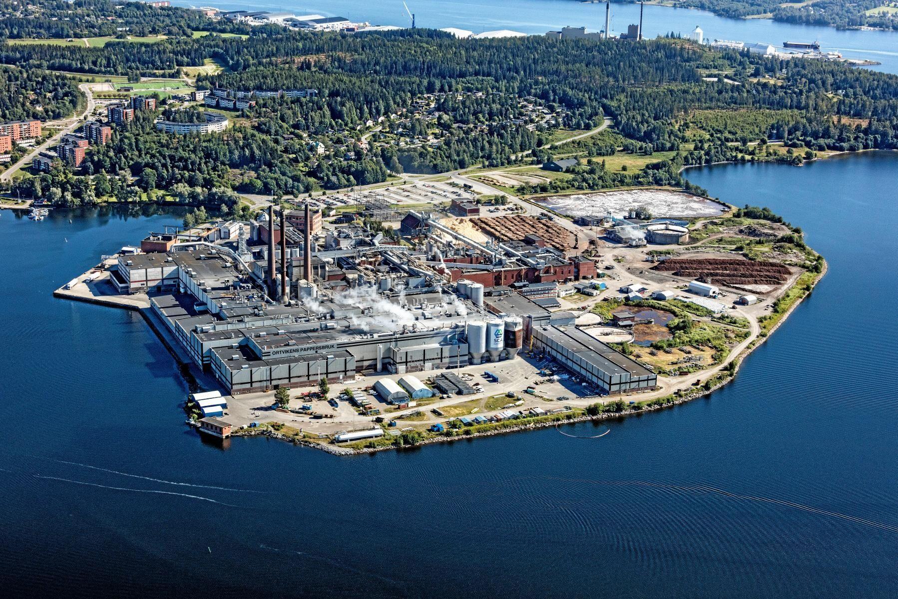 I stället för tryckpapper blir det nu CTMP-massa och textilåtervinning i Ortviken.