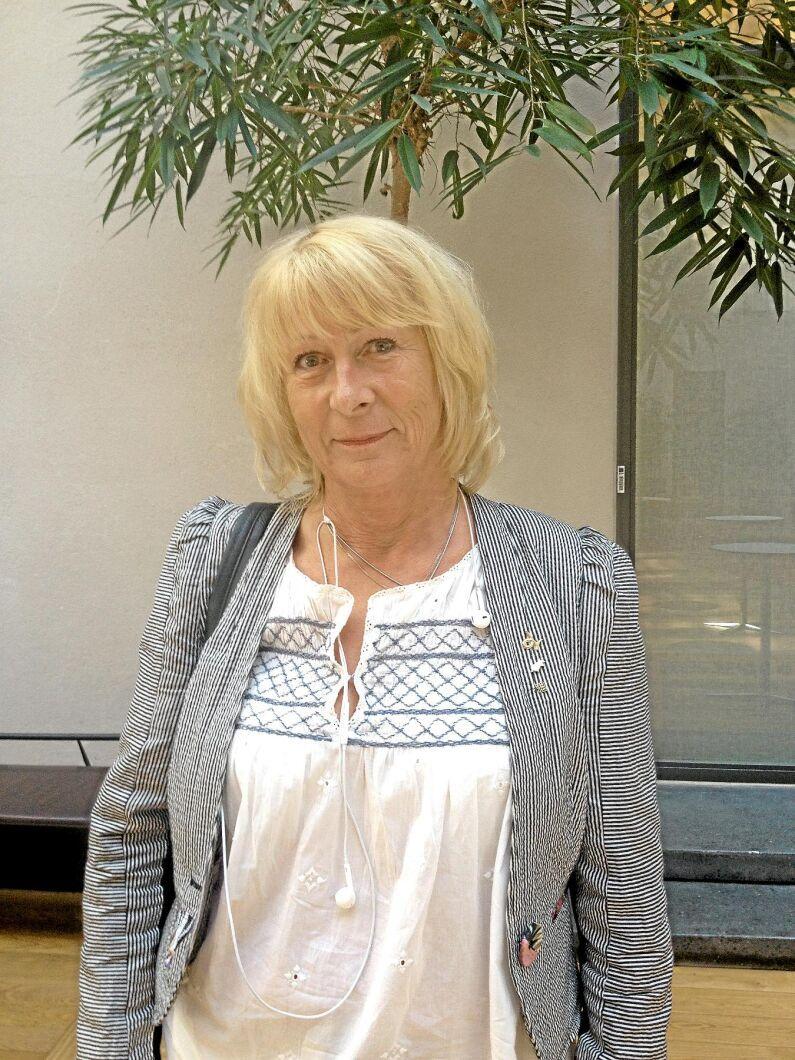 Margareta Åberg, verksamhetsledare på Sveriges Grisföretagare.
