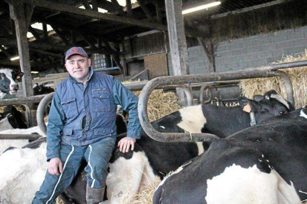 Florent Renaudier var en av tusentals franska bönder som ATL skrev om nyligen som demonstrerade för högre mjölkpriser. Nu kan han andas ut. Lactalis tillmötesgår böndernas krav.