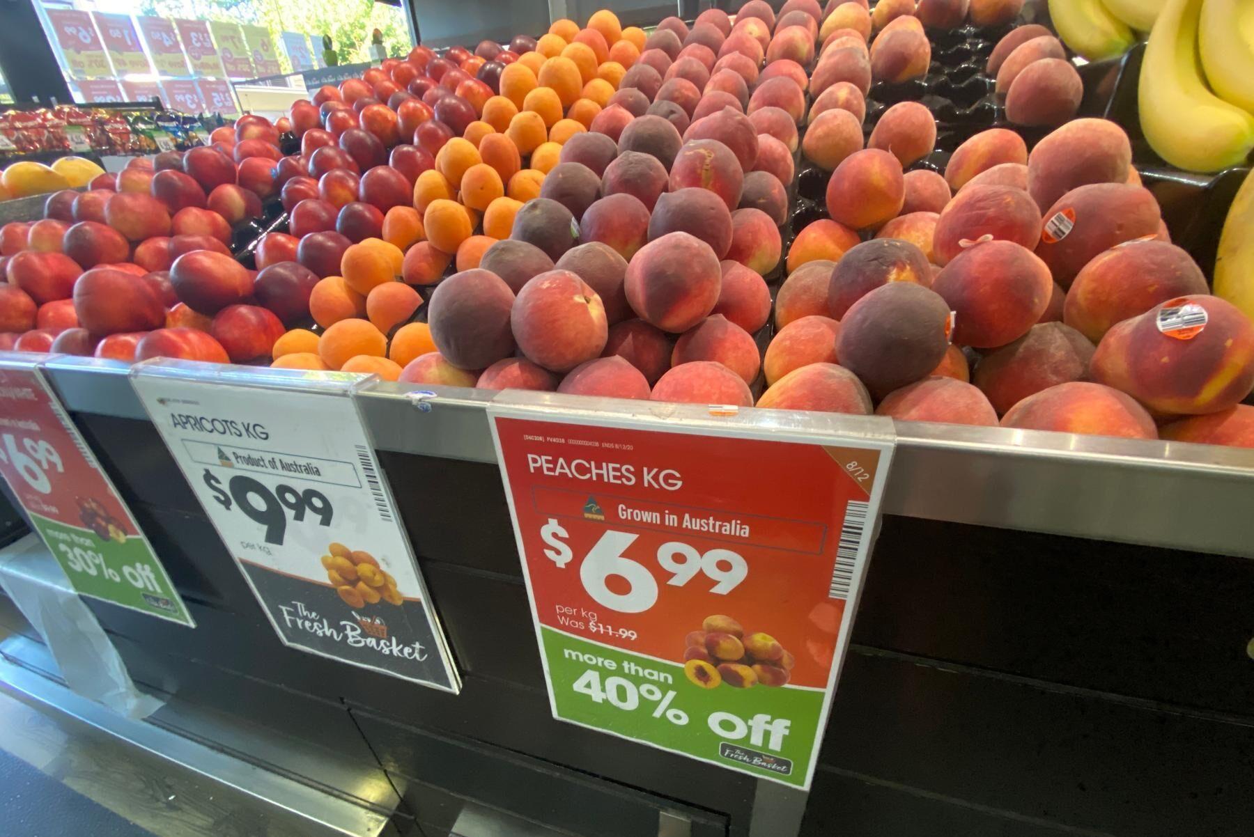 Det kan bli mindre australisk frukt i butikerna till följd av arbetsbristen.