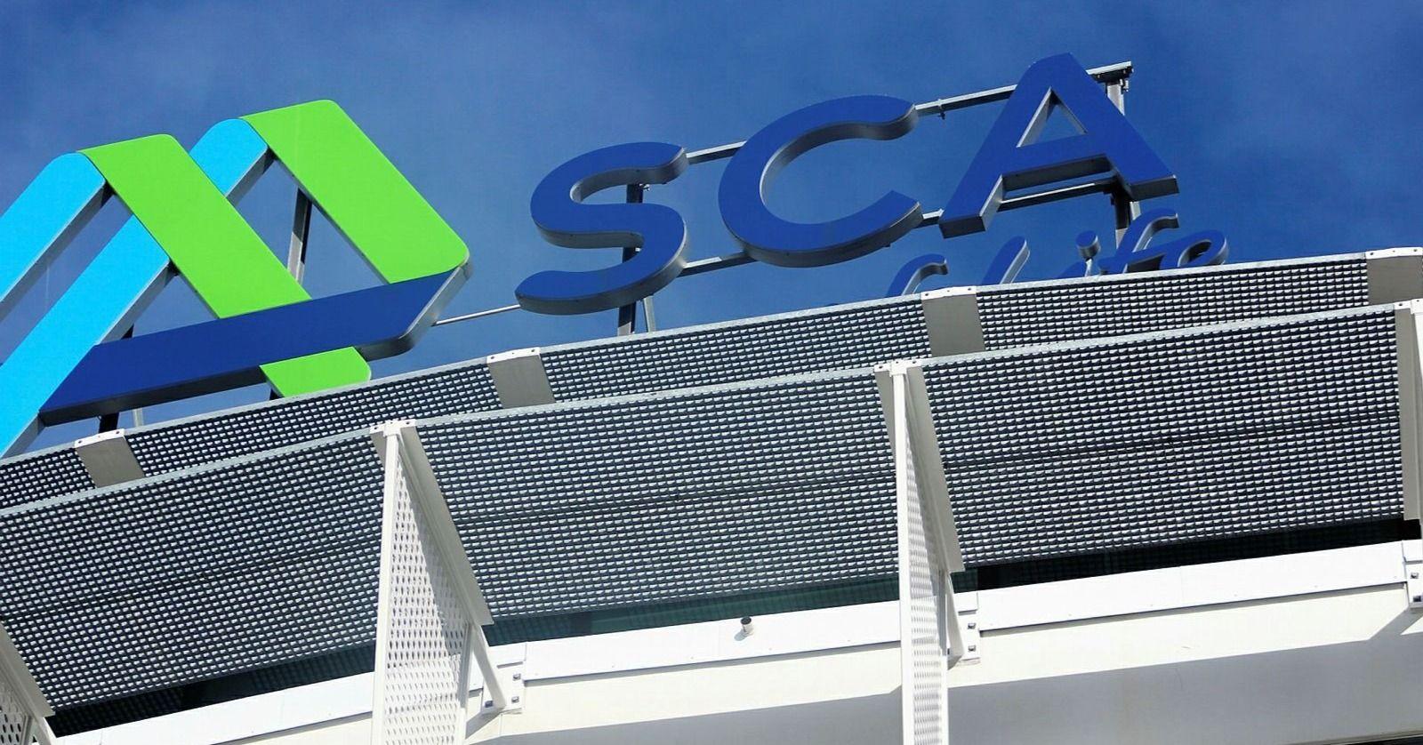 Hög efterfrågan lyfter SCA