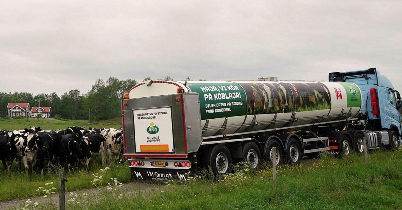 Ökat biogastryck för Arla och Gasum