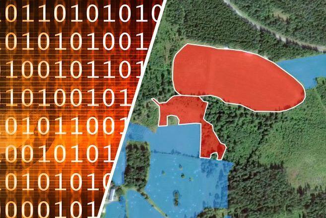 Genom Cropsat kan användarna styra gödselgivan genom att markera sitt fält på kartan och därefter göra sina gödslingsval.