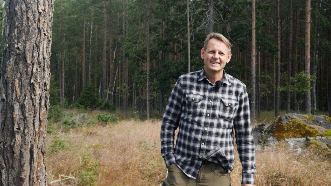 Ulf Aronsson, skogreporter på ATL.