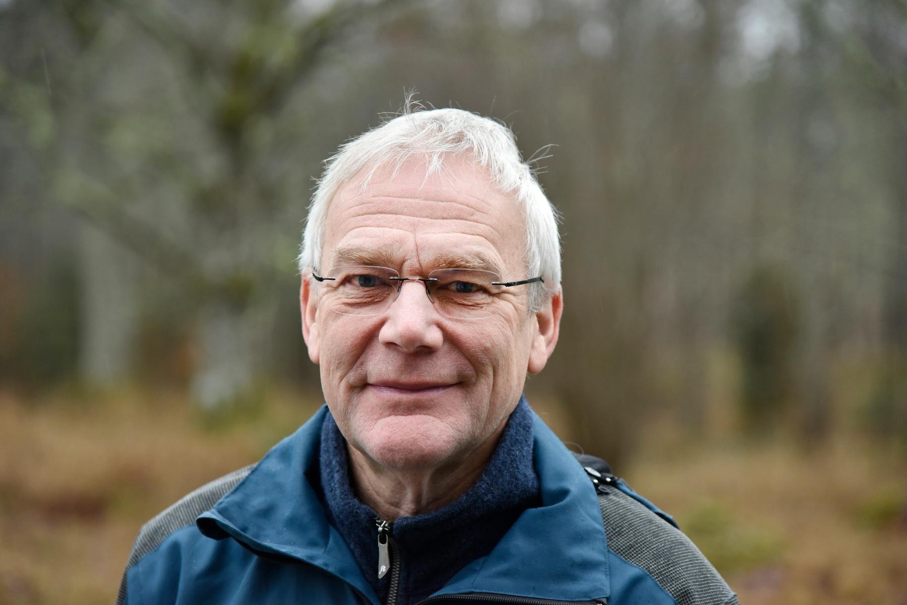 Per-Erik Larsson, projektledare för projektet Granbarkborre 2020.