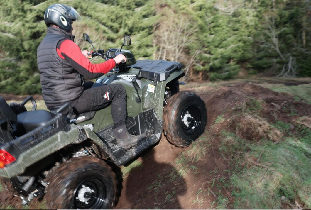 Efterfrågan på fyrhjulingar är stark i år.