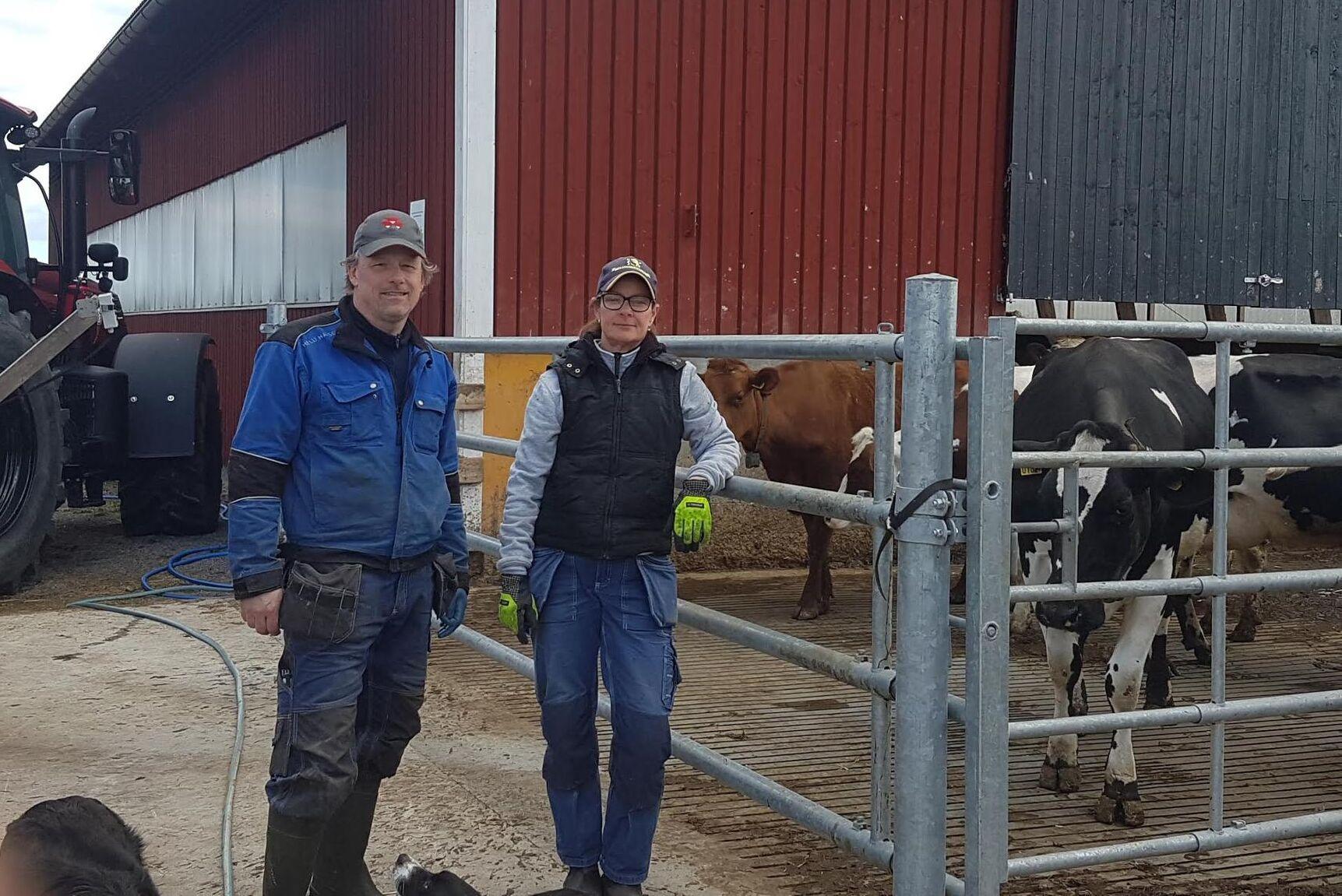 Hans Carlsson och Pernilla Karlsson i Östra Ryd blev avstängda från auktionssajten Klaravik.