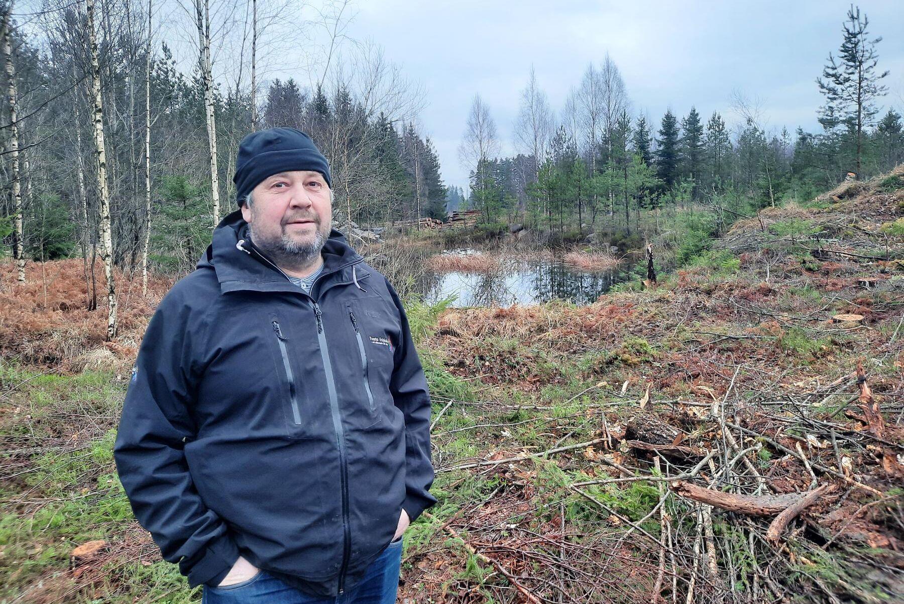 Hans-Erik Blidstam på Tveta Gård som tar över Lantmännens spannmålsmottagning i Säffle 2021.