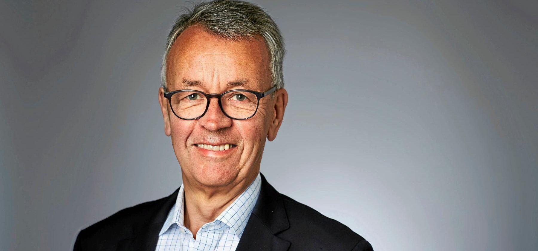 """""""Efterfrågan på den förnybara skogsråvara som vi i Sveaskog levererar kommer att vara fortsatt hög"""", spår VD Per-Olof Wedin."""