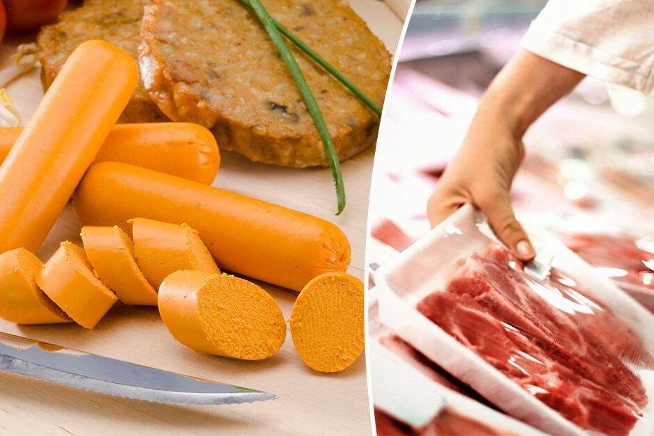 """Vegetariska produkter får i Frankrike inte längre säljas med ord som traditionellt förknippas med kött. """"The impossible burger"""", gjord på vegetabiliskt protein, får till exempel inte kallas burgare i Frankrike."""