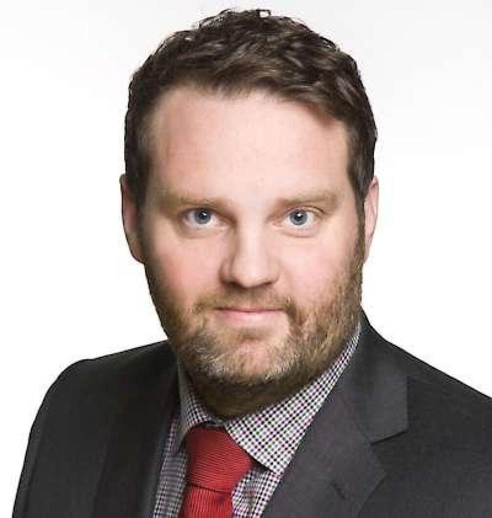 Markus Helin, chefmäklare på LRF Konsult.
