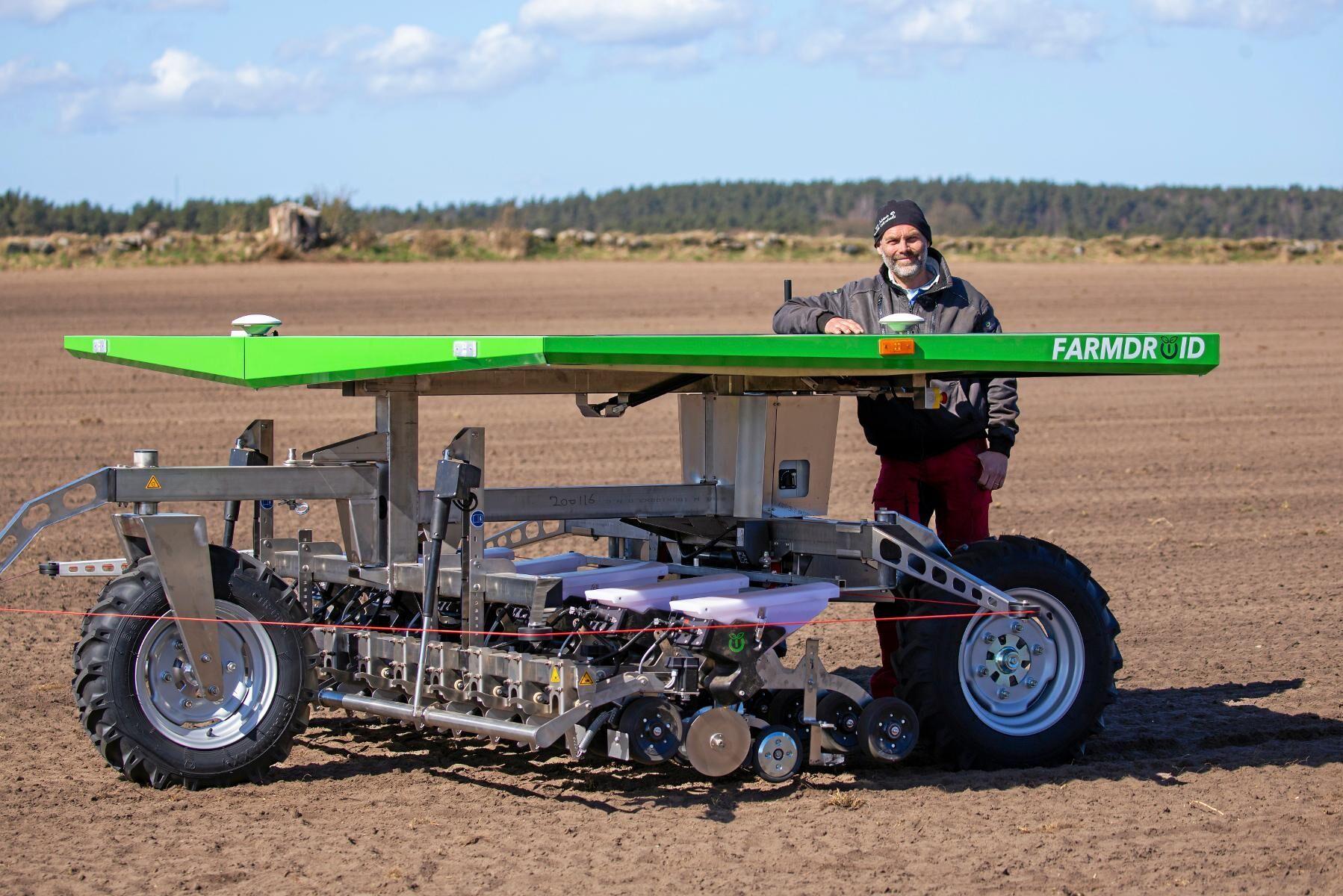 Först. Marcus Callenbring på Stora Juleboda gård är en av fem odlare som i år får systemet installerat.