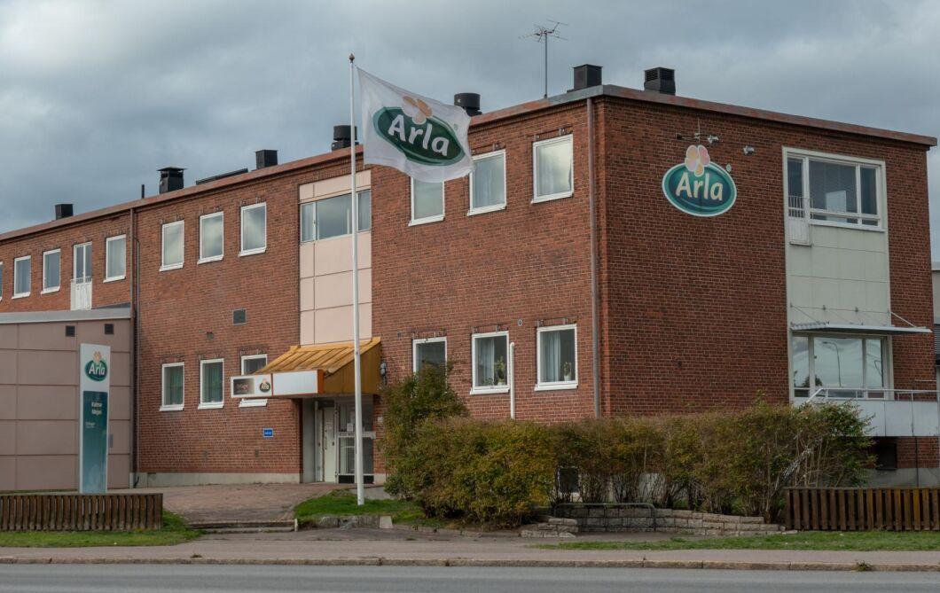 30000 liter mjölk slog ut reningsverk i Kalmar.