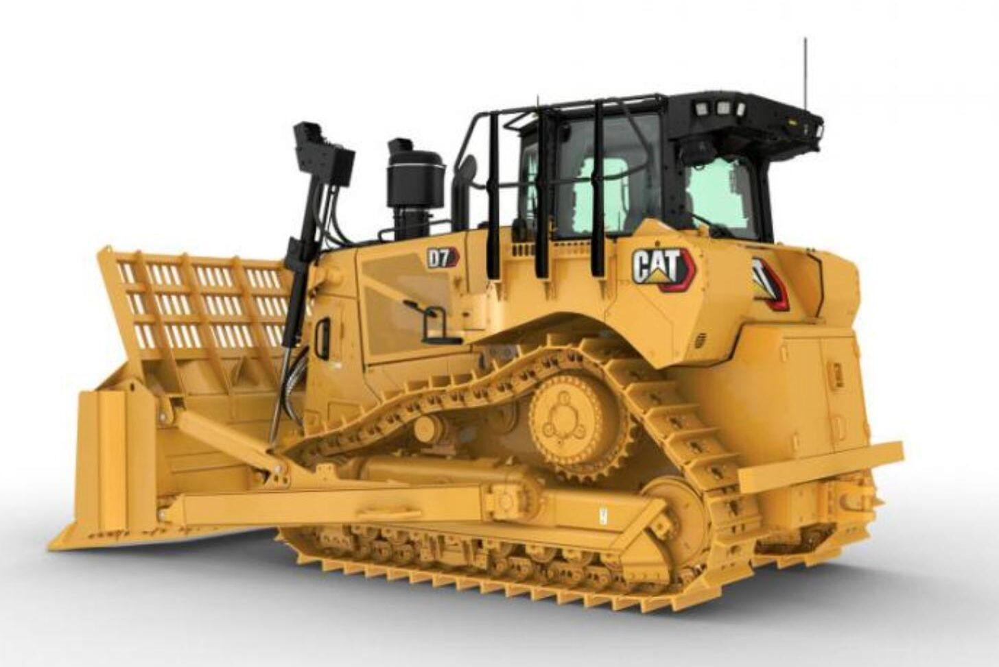 Caterpillars nya D7-modell kommer till Sverige i höst.