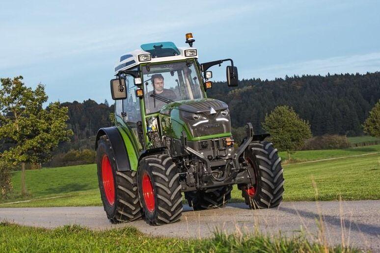 2024 kommer Fendts eldrivna traktor e100 Vario att finnas på marknaden.