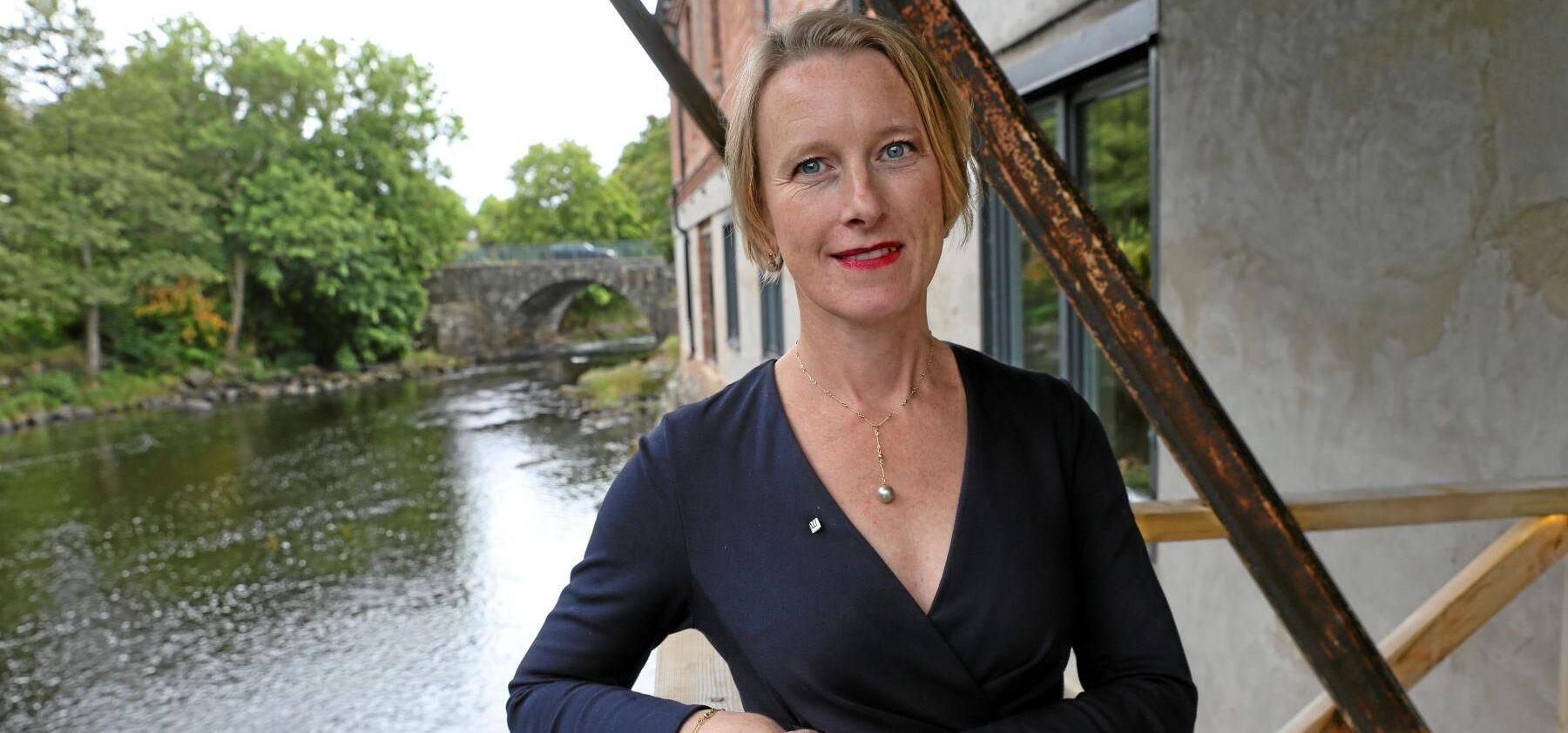 Viveka Beckeman, chef för Juridik och Fastigheter på Sveaskog.