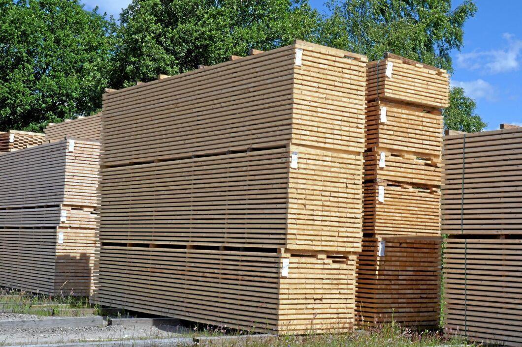 Höjda priser på trävaror höjde timmerpriset under 2017.