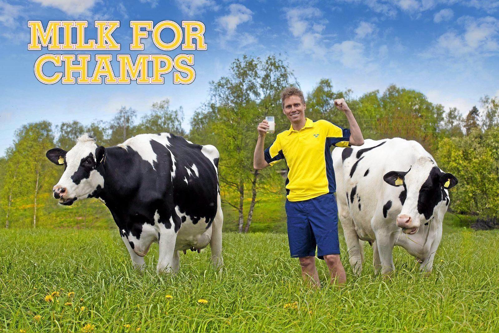 """Genom varumärket """"Milk for Champs"""" ska Darhult Dairy ta sig in på den kinesiska mjölkpulvermarknaden."""