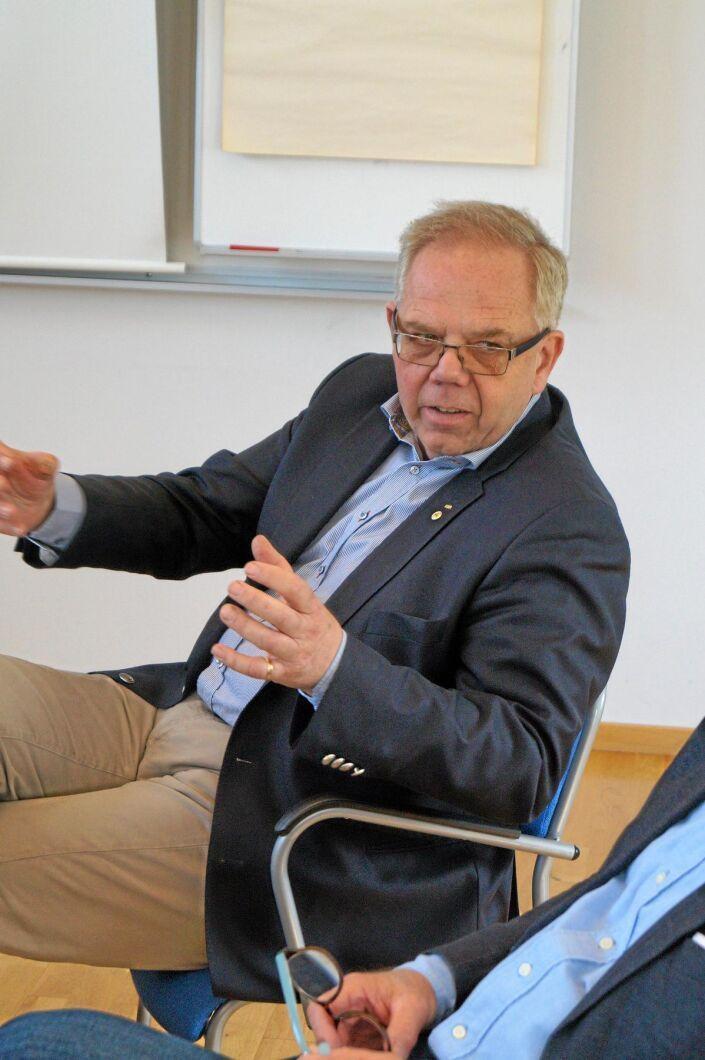 Bengt Persson, styrelseordförande för Foodhills AB.