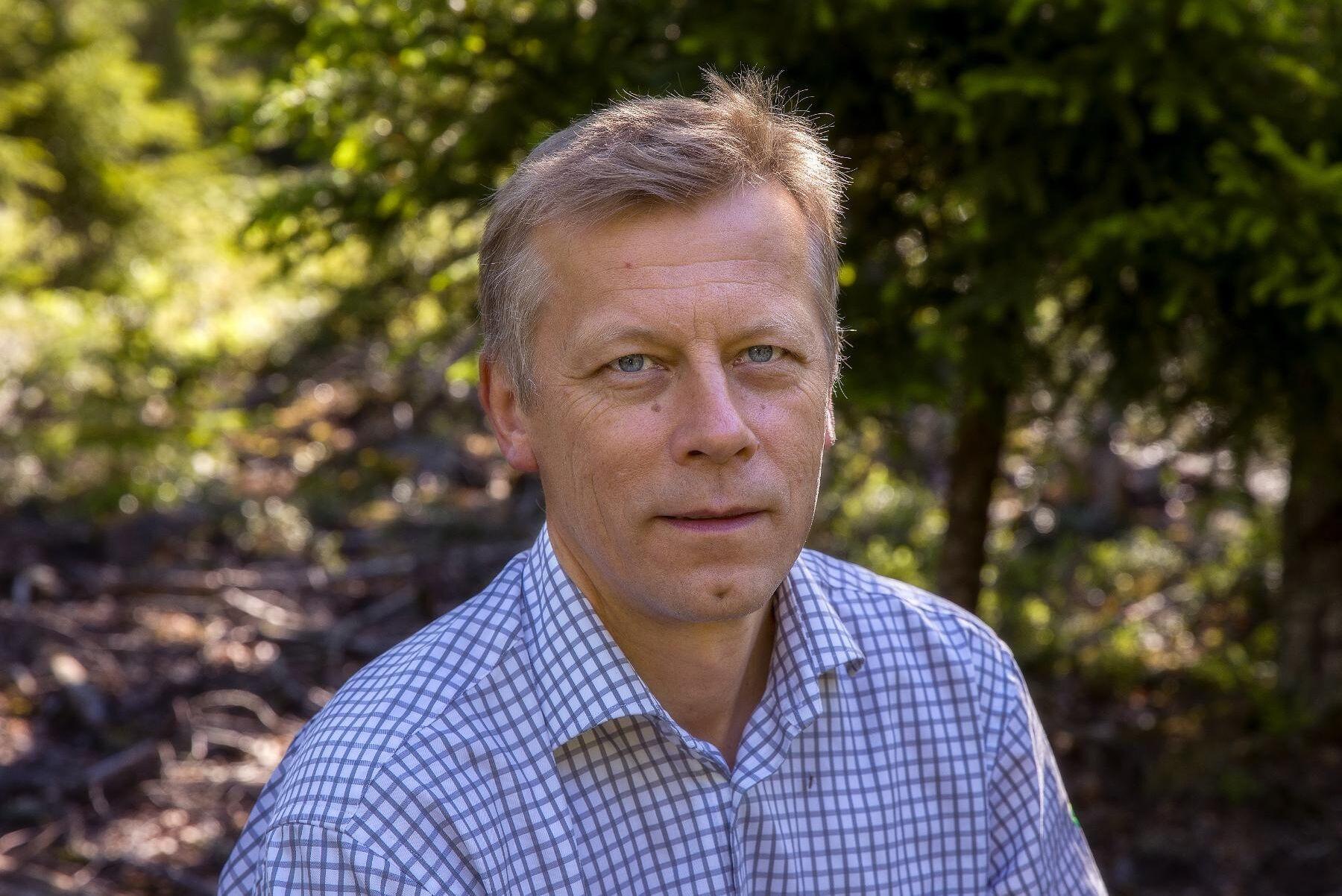 Lennart Svensson är skogsskadesamordnare vid Skogsstyrelsen.