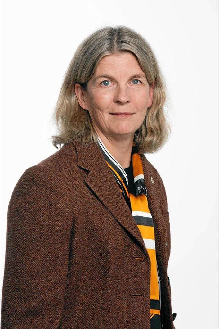 Karin Holmgren, prorektor vid SLU.