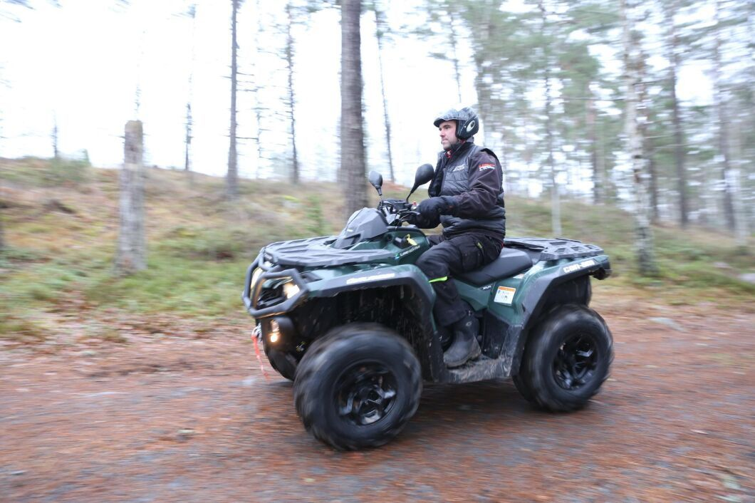 Inom lantbruket och entreprenad kommer elektrifieringen troligen först till fyrhjulingar, UTV och ATV, som används inomgårds eller på planerade turer.