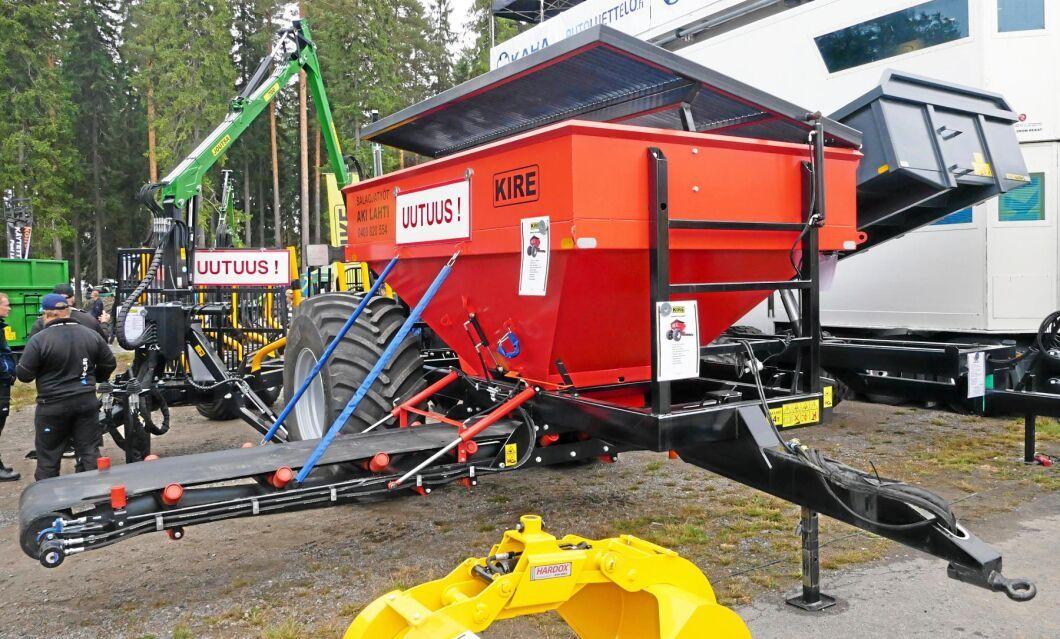 Kire visade en ny gruskärra med en lastkapacitet på 8,5 kubikmeter.