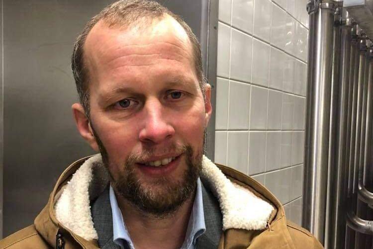 Anders Birgersson, en av grundarna till Glada Bonden som har köpt Arlas gamla mejeri av Boxholms kommun.