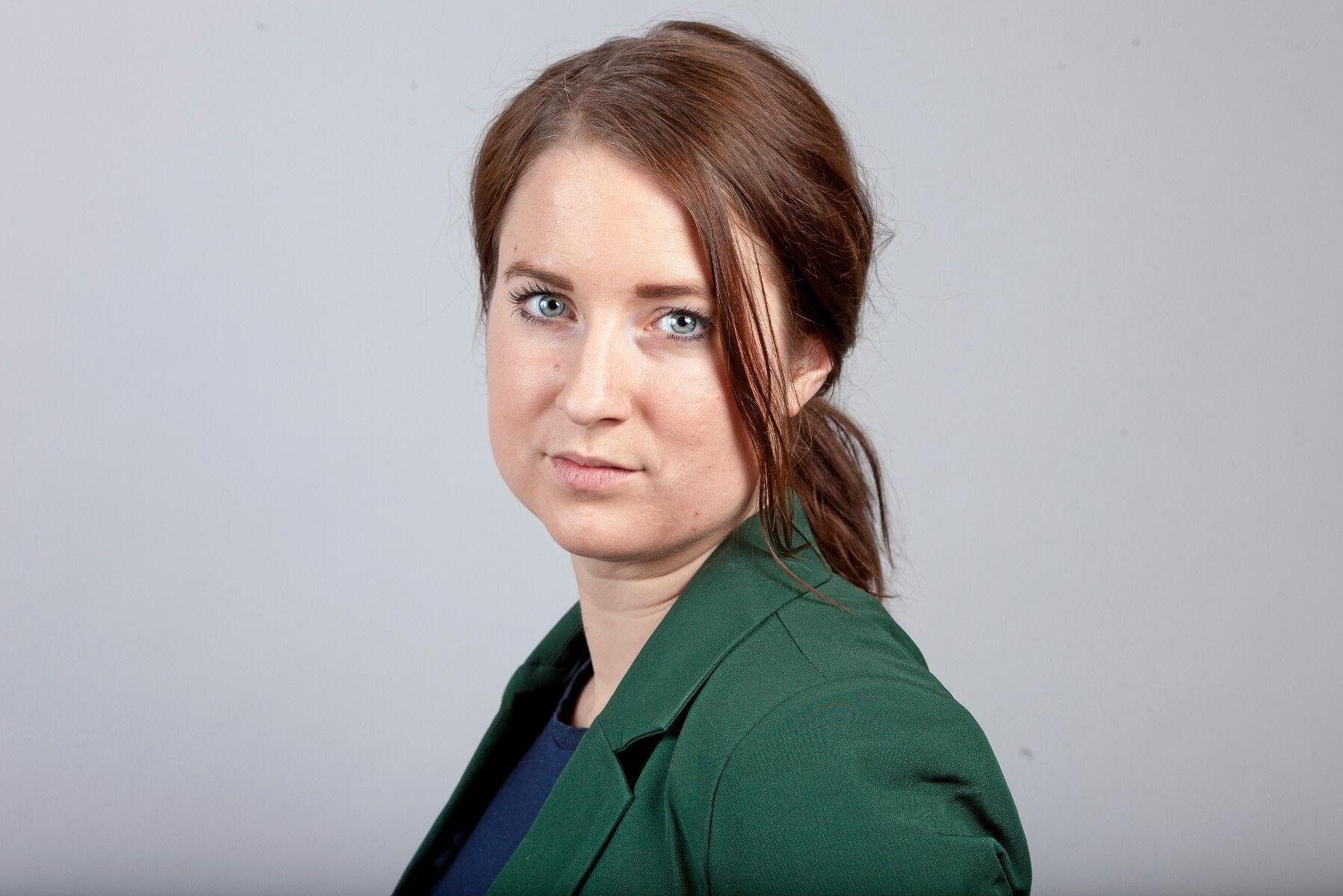 Emma Wiesner (C) gör snart sin debut som EU-parlamentariker.