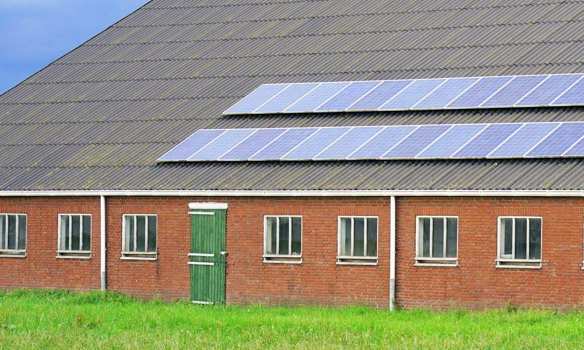Solceller och solpaneler toppar listan över planerade investeringar för lantbruket.