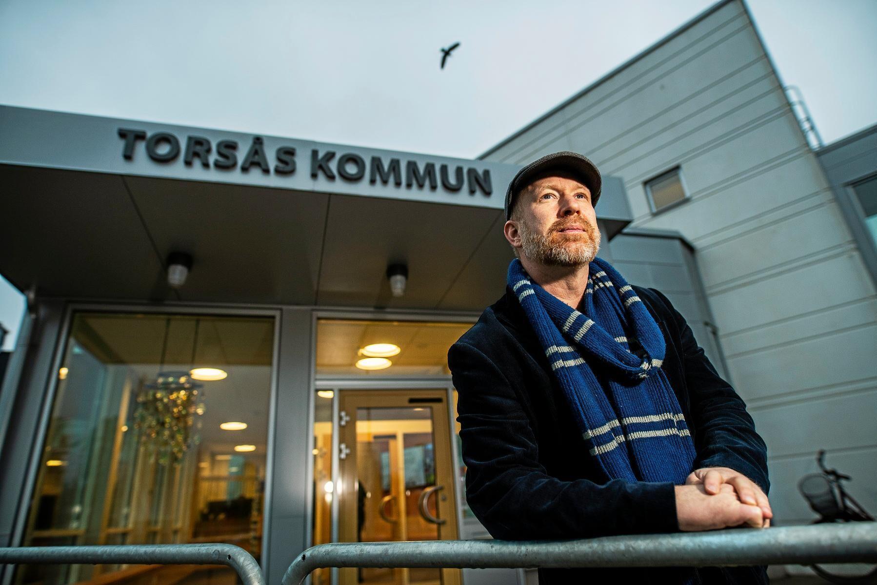 """""""Jag tror absolut att vi kunde ha haft en större inflyttning. Många vill bo på landsbygden, men förväntar sig också tillgång till internet då"""", säger Henrik Nilsson Bokor (S), kommunalråd i Torsås."""