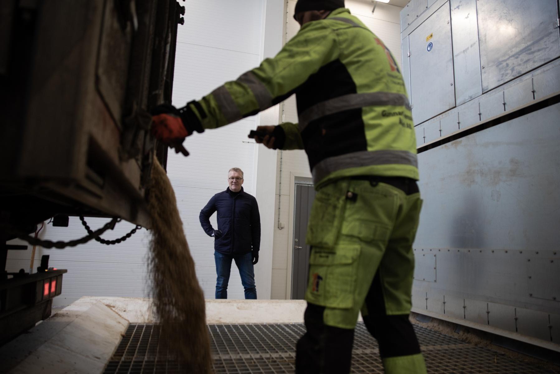 Berte Qvarn kan ta in 50 000 ton havre till den nya kvarnen.