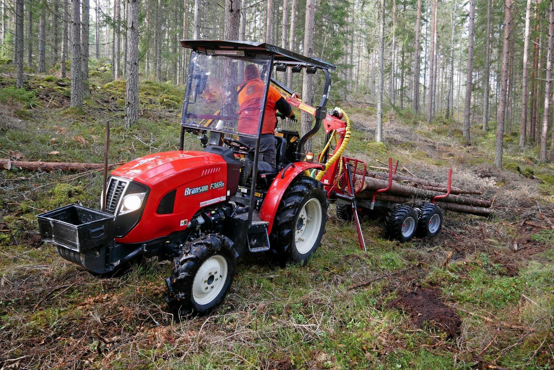 Bransons minitraktorer kan vara ett bra alternativ till fyrhjulingen.