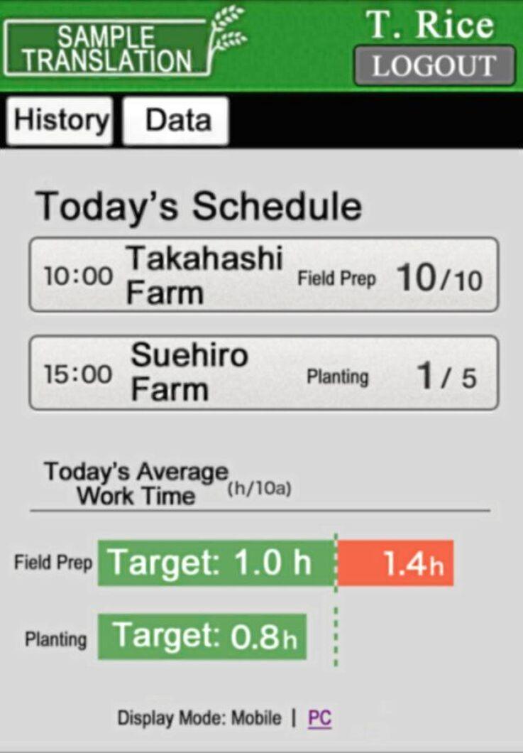 Full koll på odlingen direkt i appen.