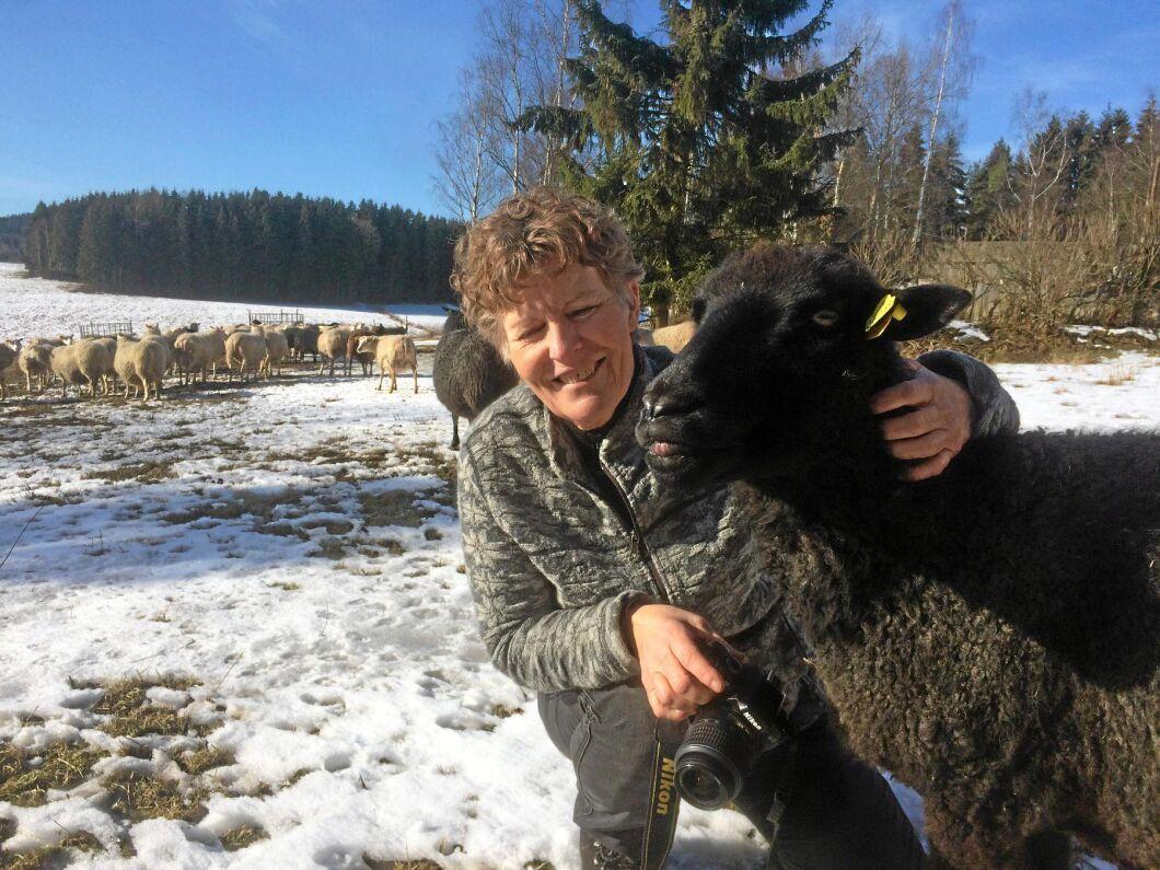 Karin Granström är projektledare i det ena fårstallsprojektet.