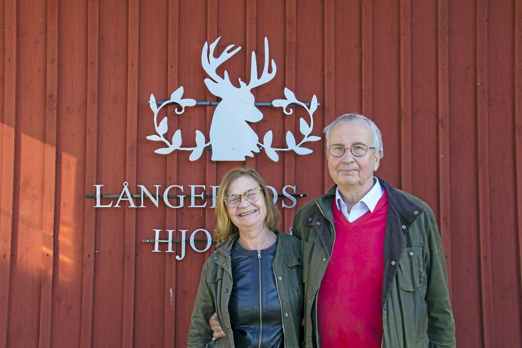 Ulla Ericson och Lars Johansson satsade på hjortar