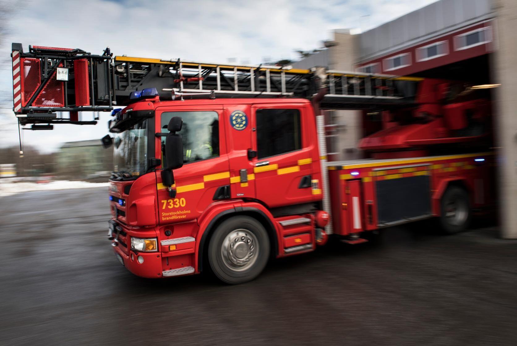 Hundratals ton toalettpapper har förstörts i en brand på Metsäs pappersbruk i småländska Kvillsfors. Arkivbild.