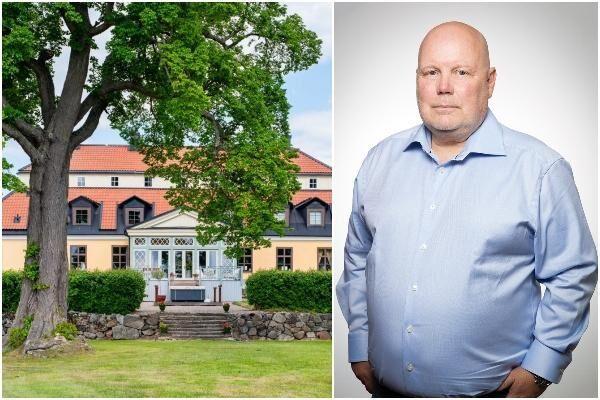 Erik Stenberg är Gimmersta Säteris nya ägare.