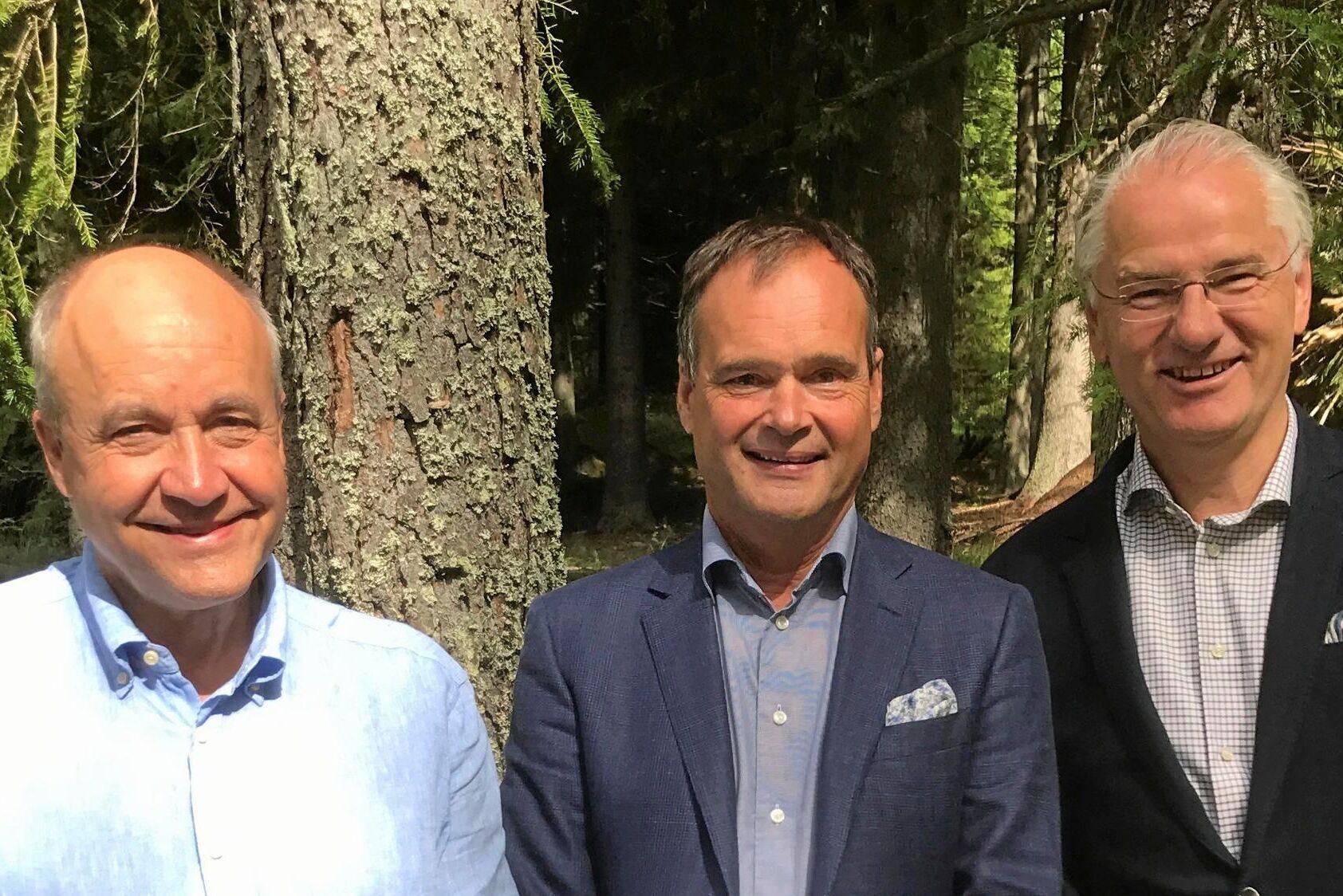 Grundare och ägare av CRK Management, som förvaltar Silvesticas tillgångar, är från vänster till höger: Karl Danielsson, Caesar Åfors, och Rickard Lehman.