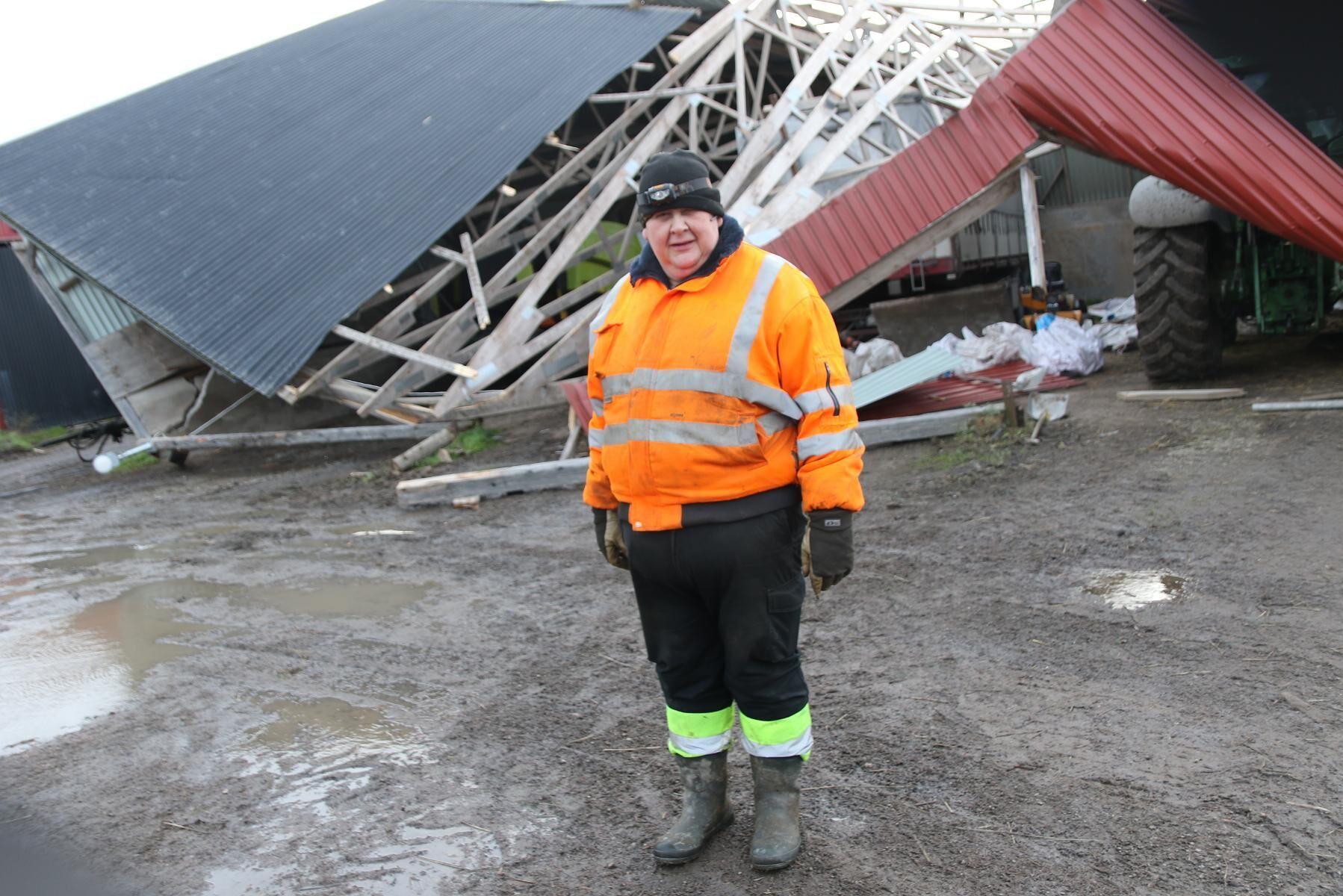 När Niclas Åkerlind kontaktade sitt försäkringsbolag var beskedet att det blåst för lite för att han skulle få några pengar.