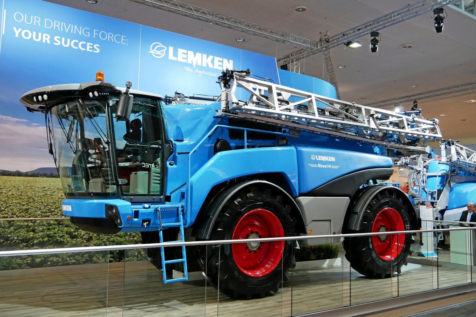 Lemken visade nyligen upp nya sprutor på Agritechnica – här är Lemkan Nova 14.