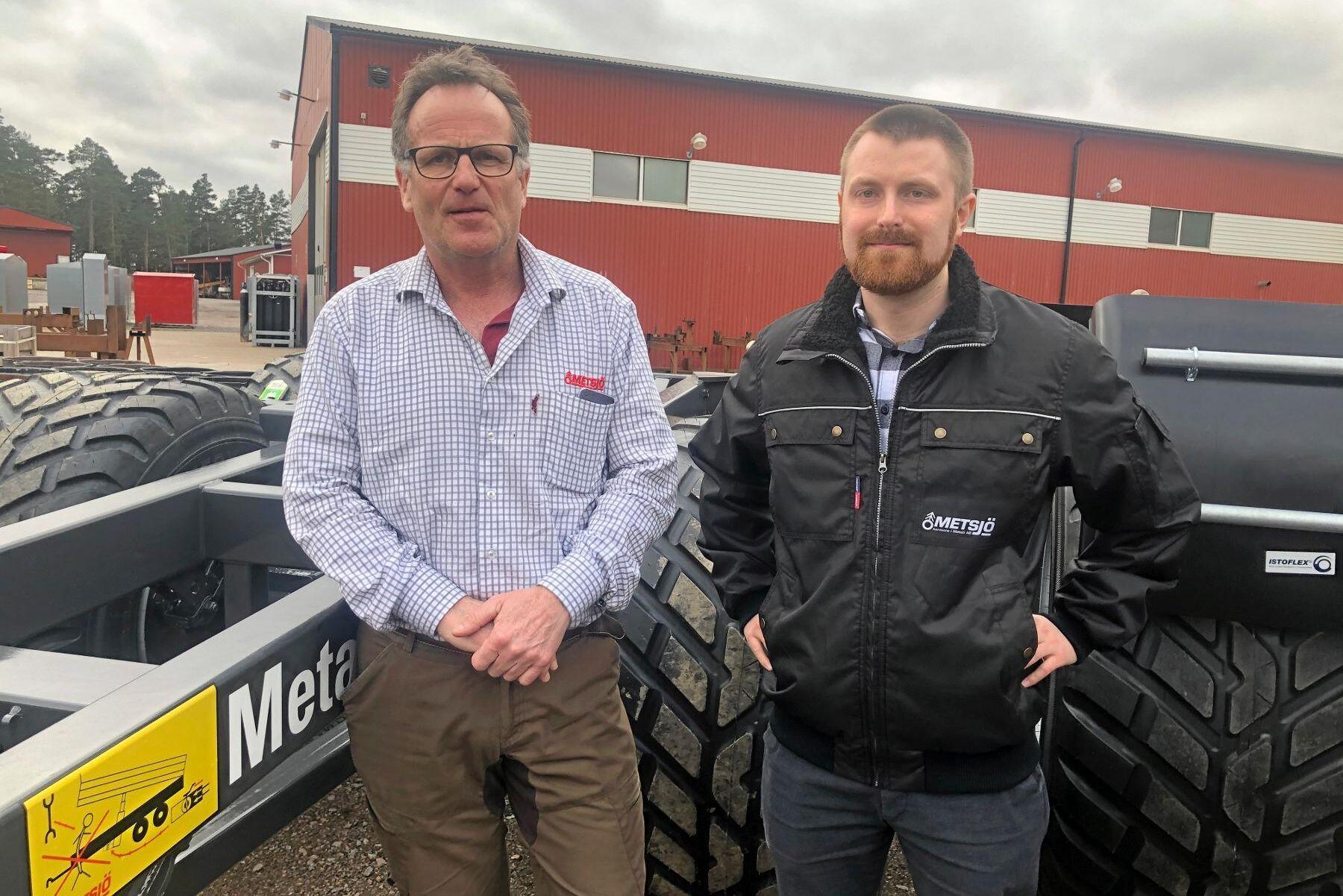 ATL mötte vd Anders Ivarsson och sonen Loa Ivarsson, tillika ekonomichef, under ett företagsbesök förra året. Tack vare ett gott orderläge står företaget väl rustat inför det förändringsarbete som nu måste till.
