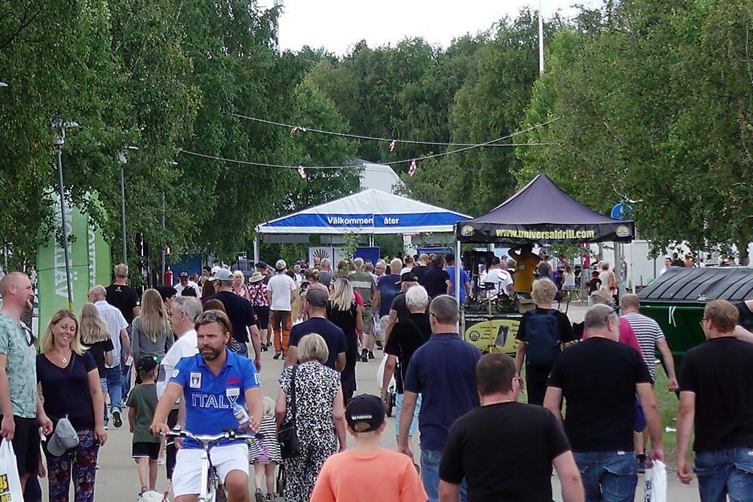 Noliamässan är ett av de större evenemangen i Norr- och Västerbotten.