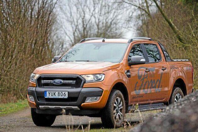 Nu får Fords pickup tankas med HVO.