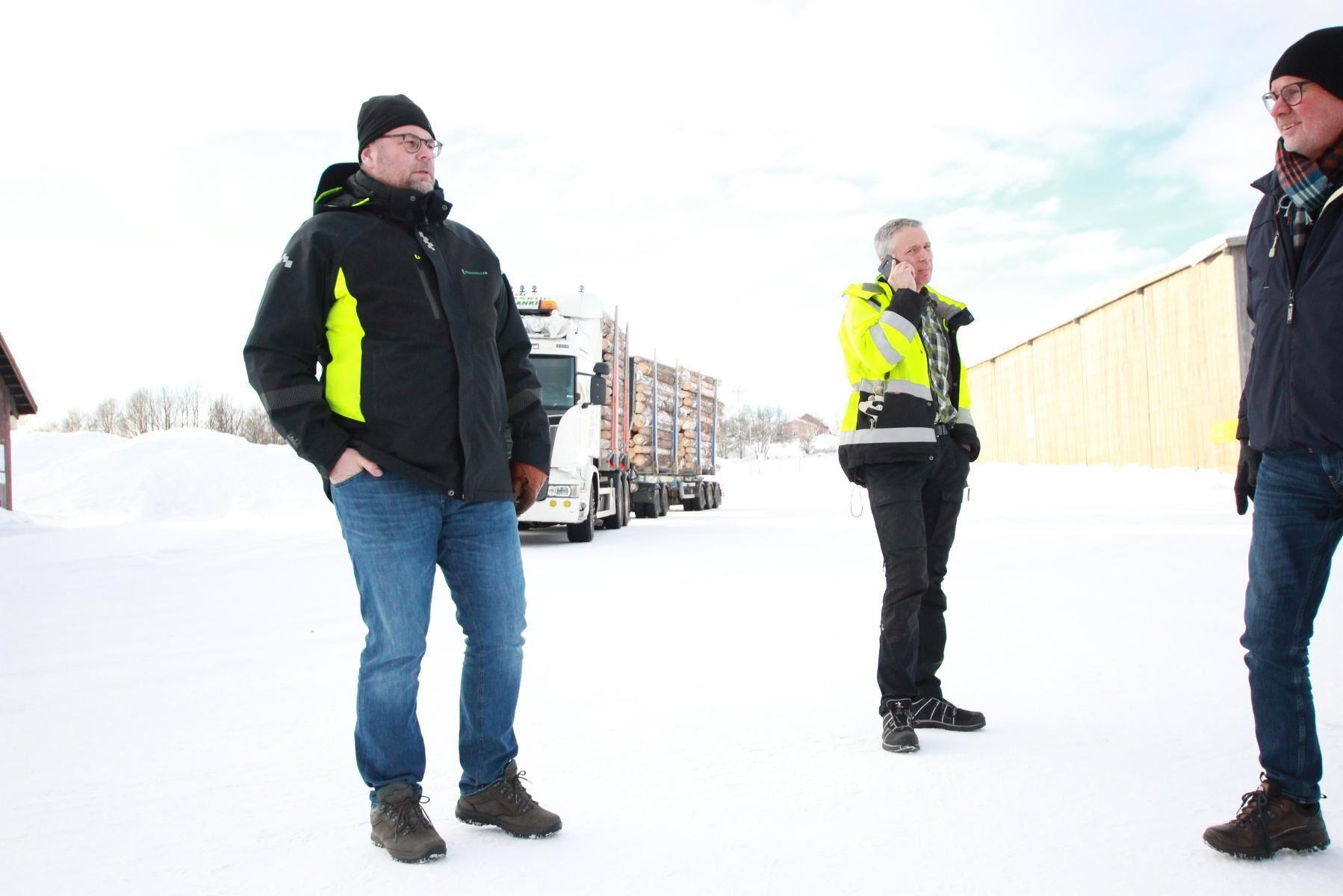 Enligt vd Paul Björnsson var köpet av Rolfs såg ett strategiskt förvärv för Glommers Timber.
