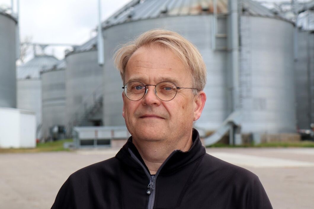 Johan Karlzén, ordförande för Sveriges spannmålsodlareförening.
