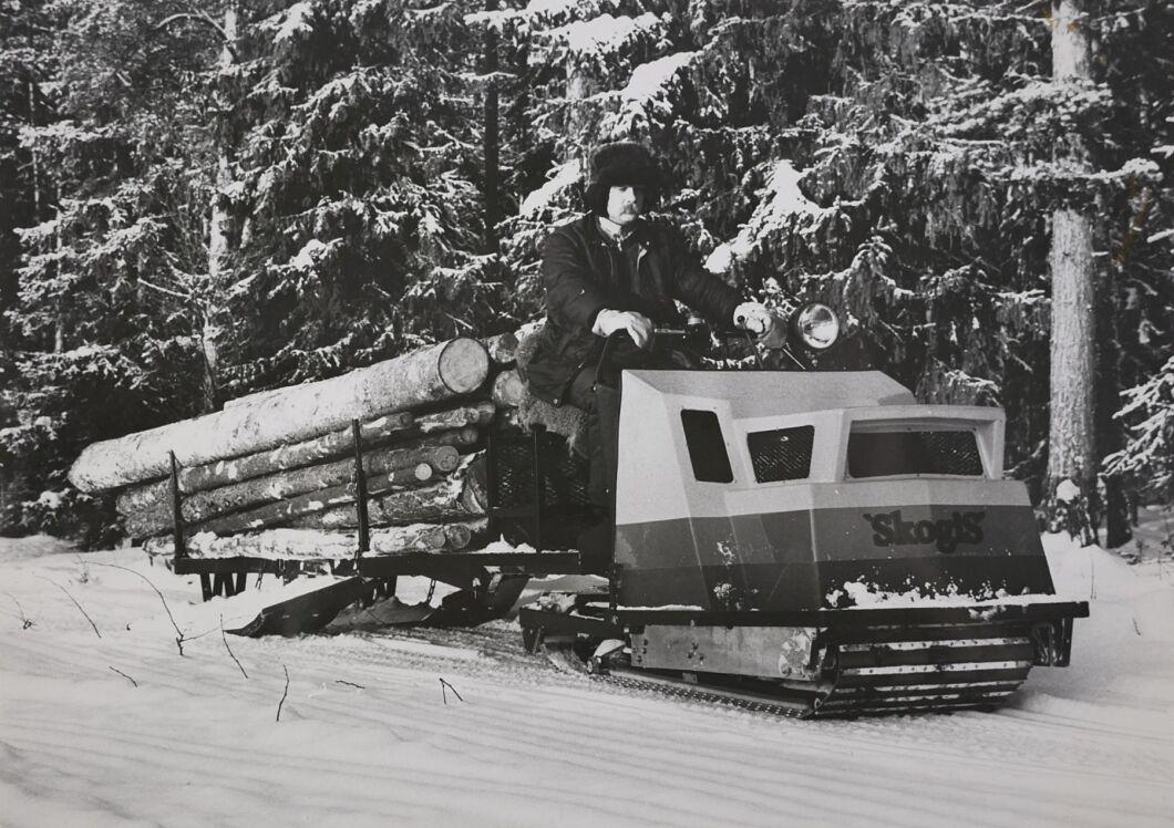 Mini-Trac från AMA i Svappavaara.